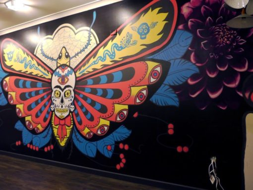 Mexican Wall Mural – Cactoblastis
