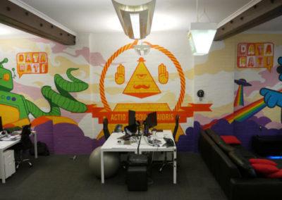 Office Wall Mural – Datarati