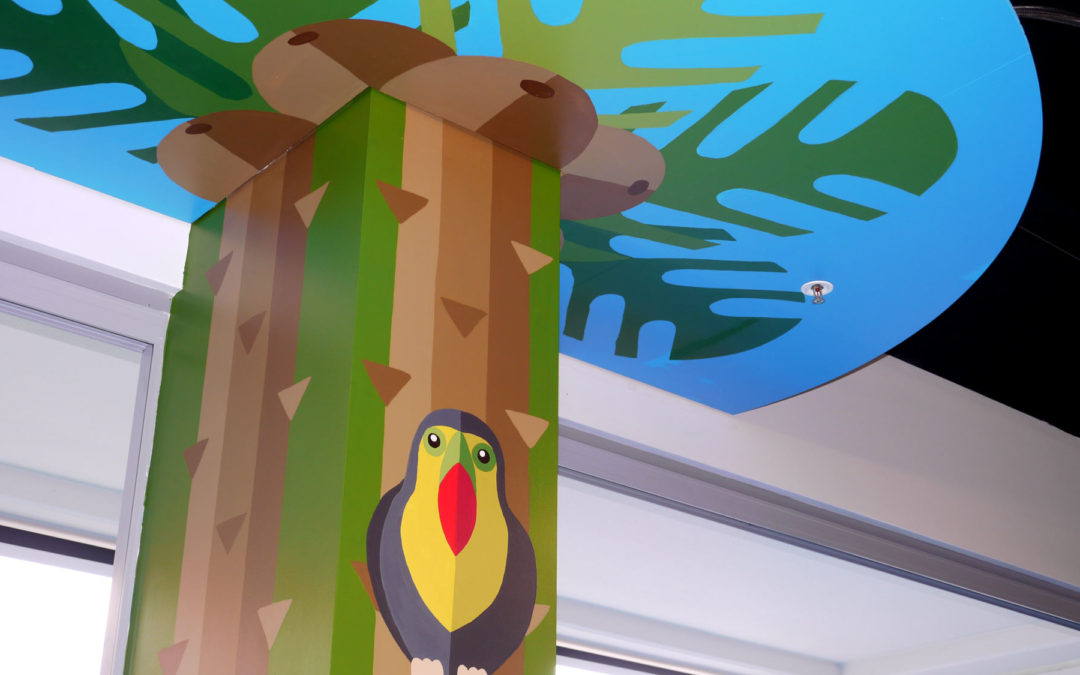 Child Care Centre Murals – Little Bees