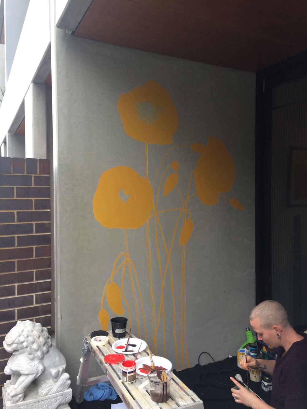 the-art-of-wall-poppy-mural-residential1