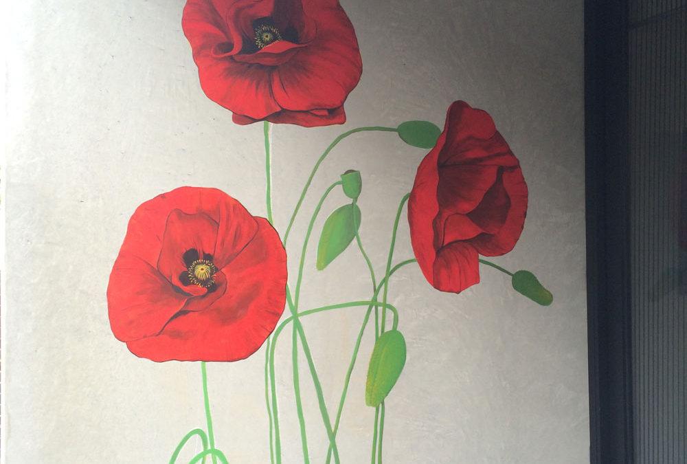 Poppy Mural Residential