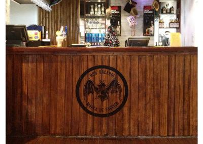Bar Mural – Bacardi Branding