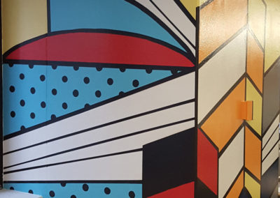 Sydney Cityscape and logo wall Office Murals