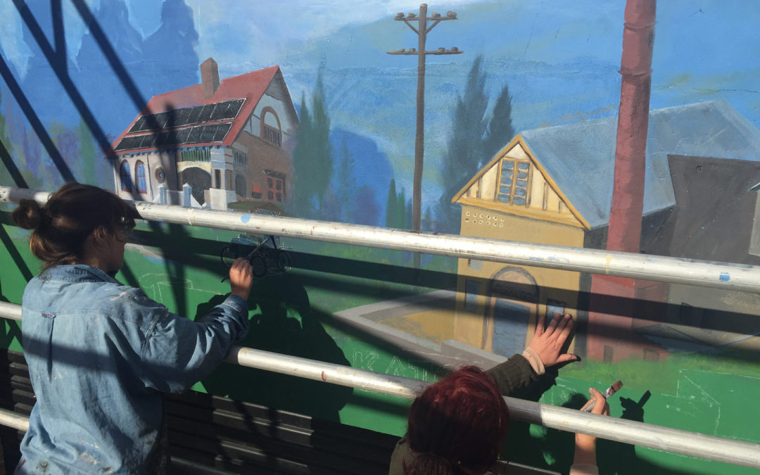 Sign Painting – Blue Mountains Solar