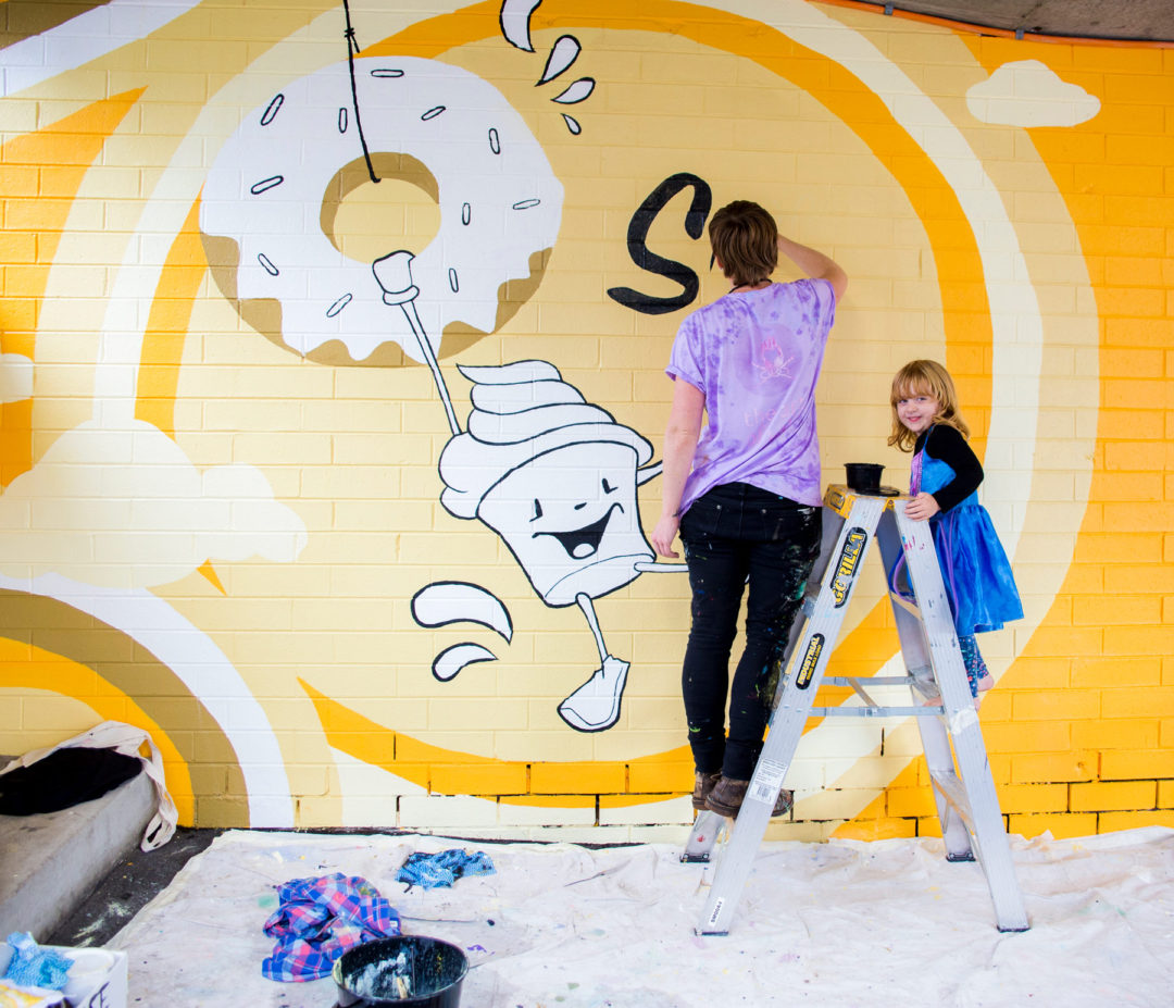 Eat St Car Park Murals – Parramatta Council