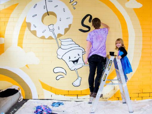 Eat St Car Park Murals – Parramatta Council