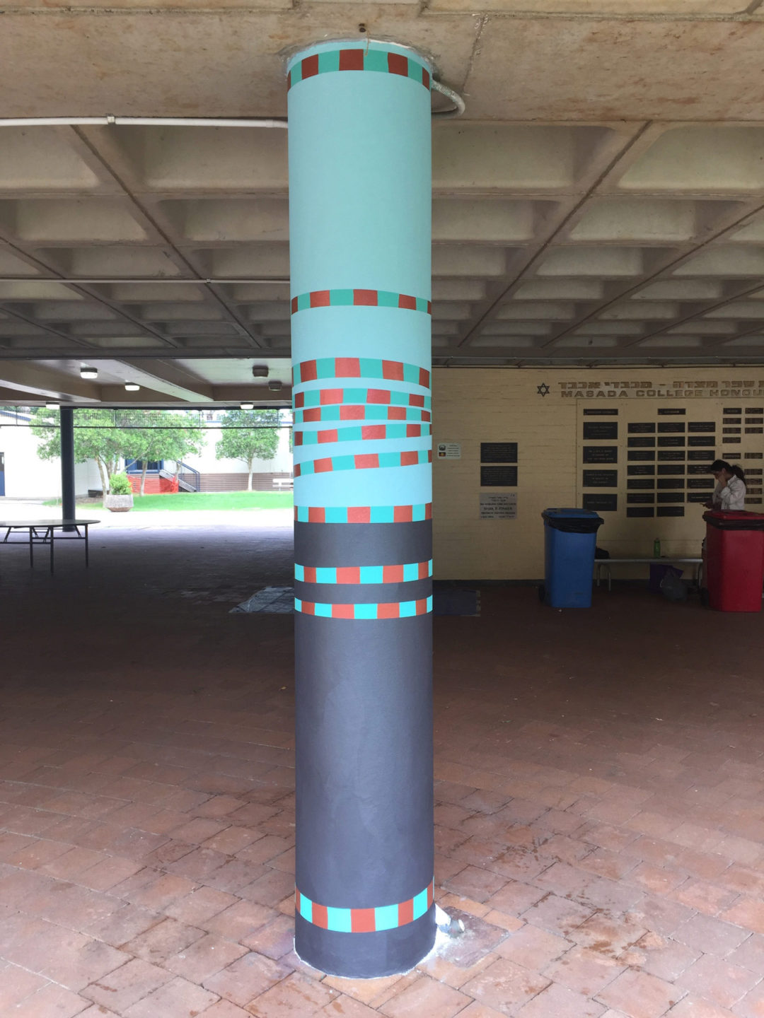 Painted Columns – Masada College