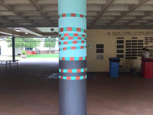 Painted Columns – Masada College