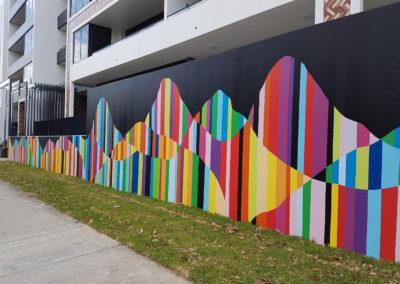Apartment Building Public Art Mural – Meriton