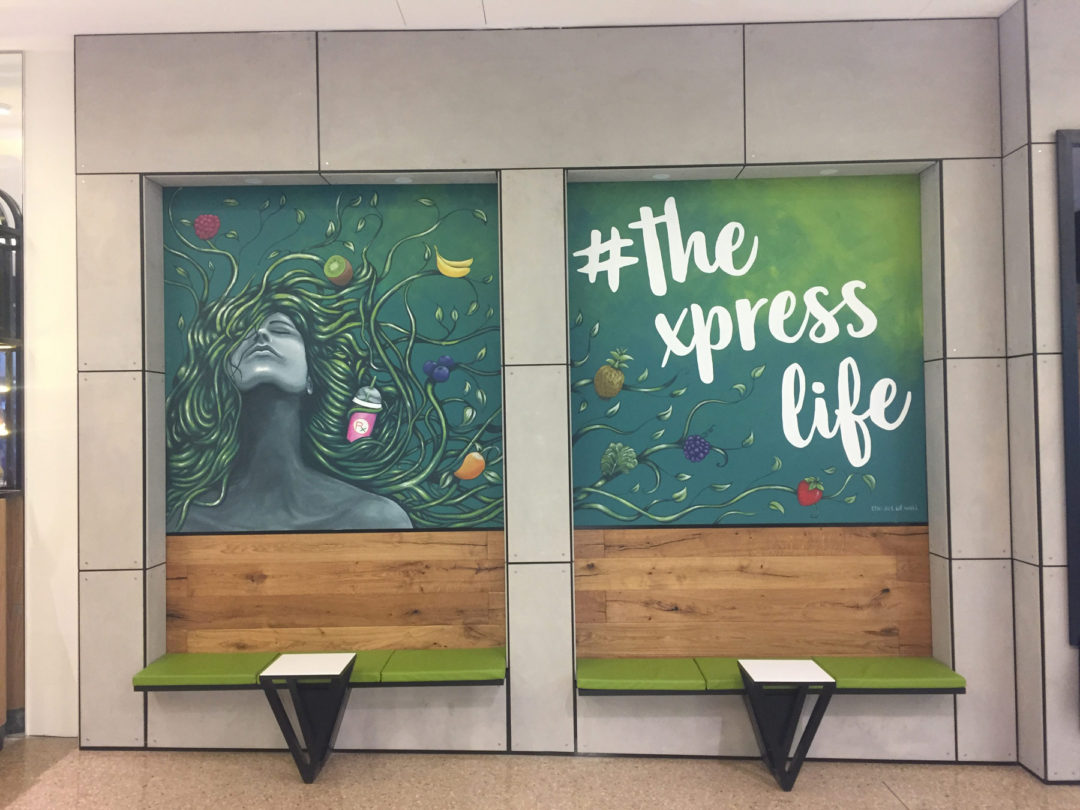 Store Front Mural – Protein Xpress