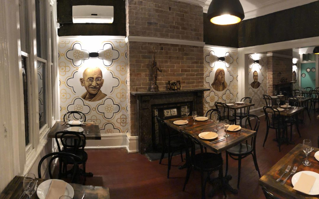 Indian Restaurant Portrait Murals
