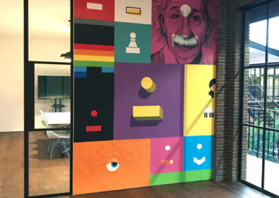 Office Mural Headmark Advertising Agency