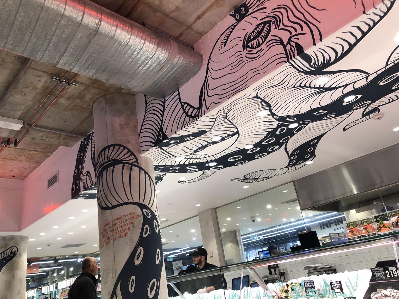 the-art-of-wall-sydney-fresh-seafood-harris-farm-lindfield-octopus-mural-5
