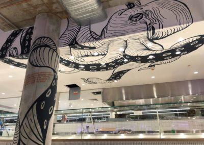 Sydney Fresh Seafood Harris Farm Octopus Mural