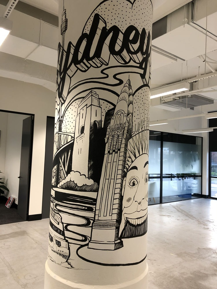 the-art-of-wall-appointment-group-column-mural-sydney-landmarks-wall-art-6