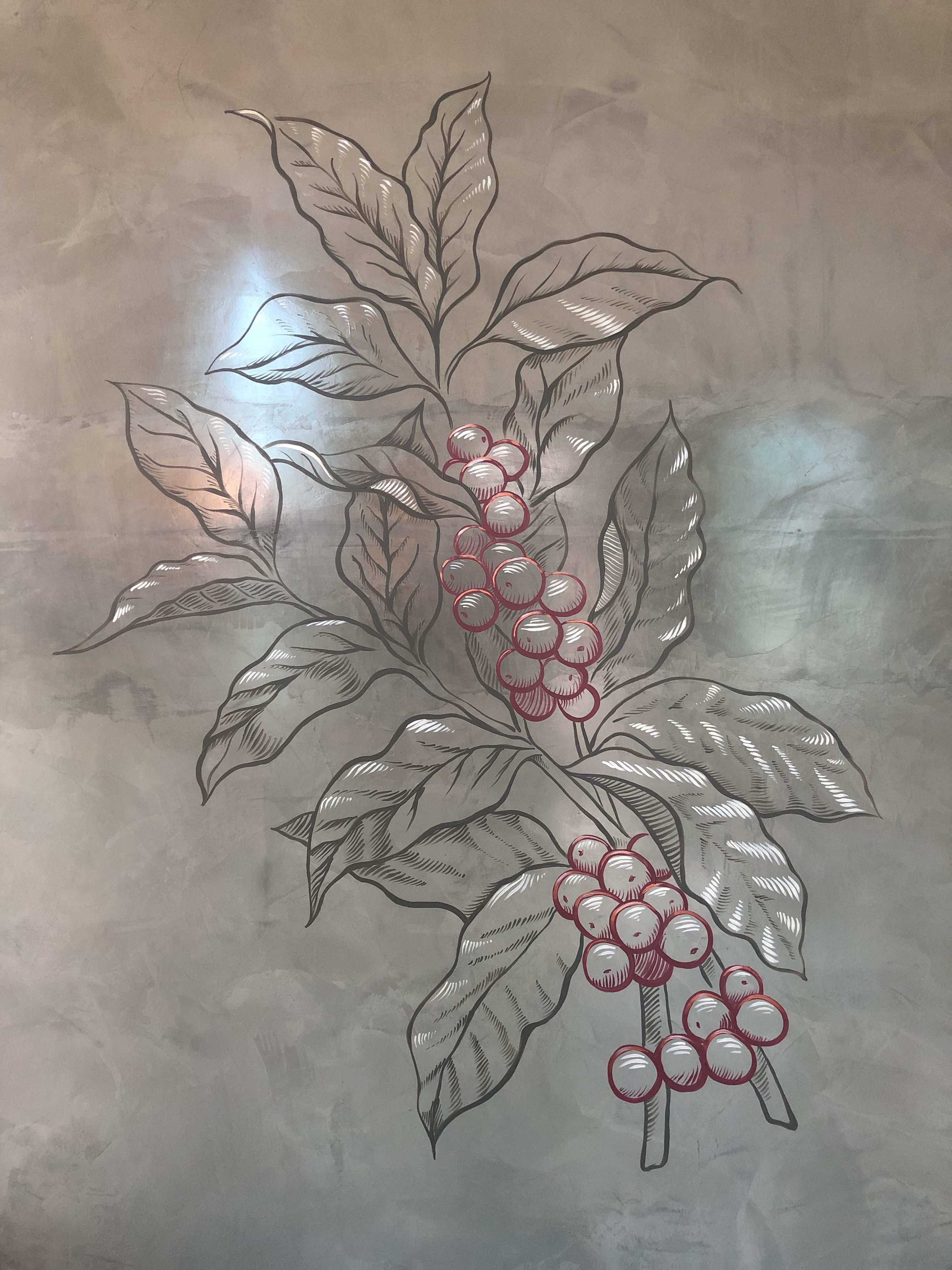 the-art-of-wall-brisbane-south-botanical-coffee-branch-wall-art-mural