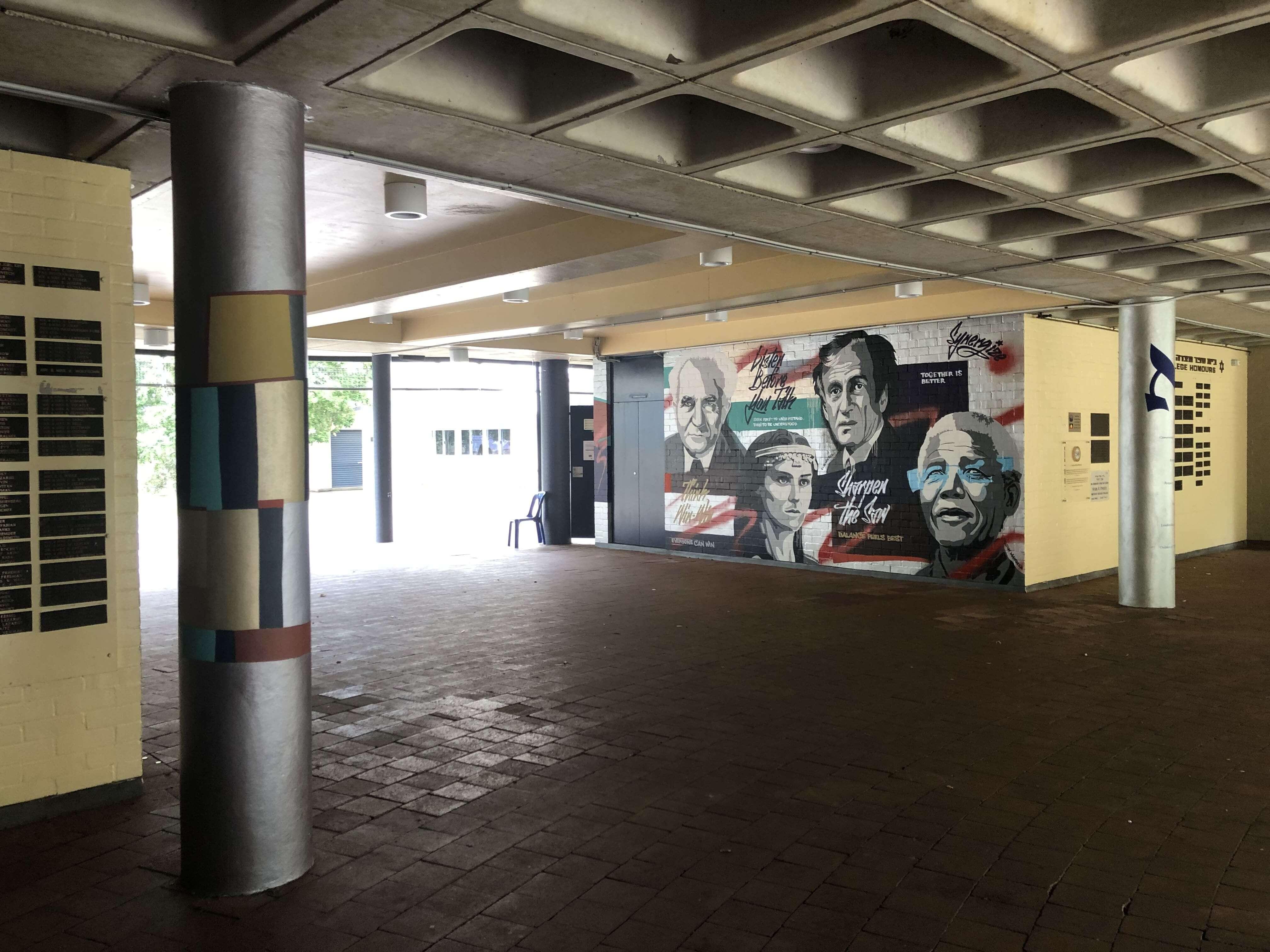 the-art-of-wall-masada-mural-stencil-leaders-seven-habits-wall-art-school-mural6