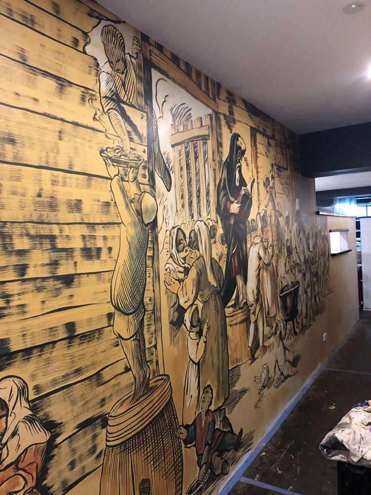 the-art-of-wall-pizza-riccardo-mural-pulcinella-northern-beaches-mural-wall-art-3