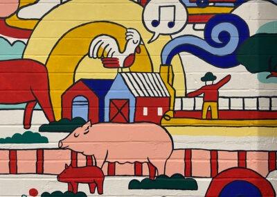 FMG Office Mural
