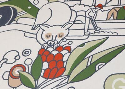 Storey Park Murals